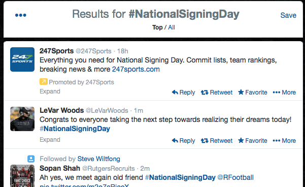 Signing Day promo